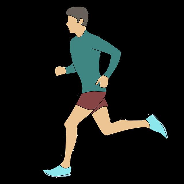 muž, běžec