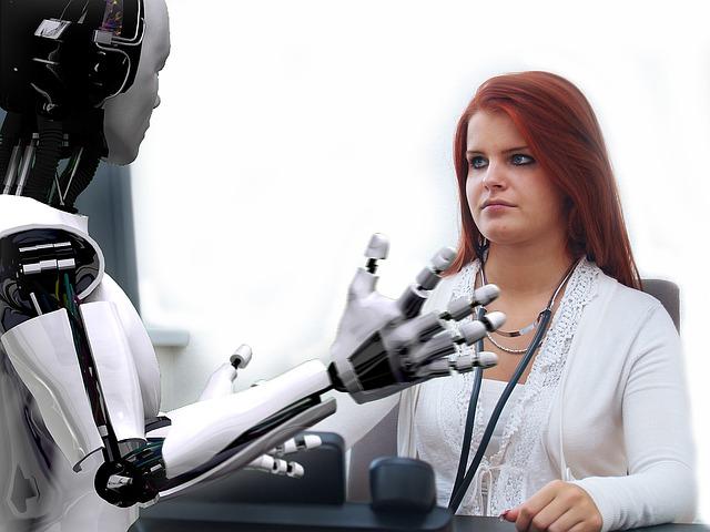 robot u lékařky