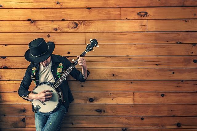 hudebník a ukulele