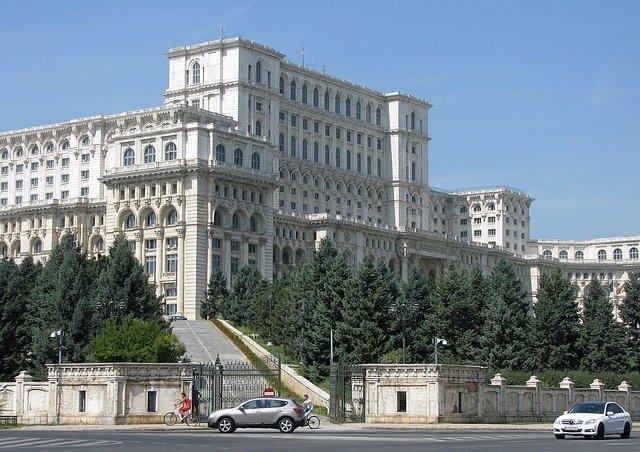Palác lidu v Bukurešti