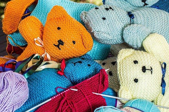 pletení medvídků