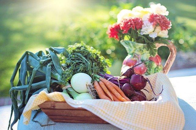 kytka u zeleniny