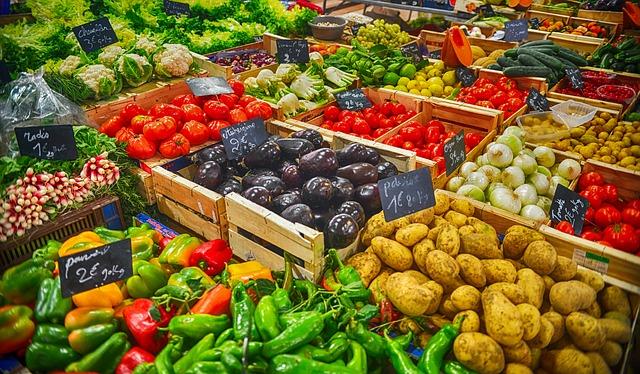 bedýnky se zeleninou