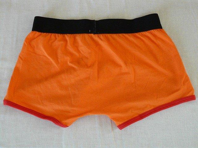 oranžové trenky