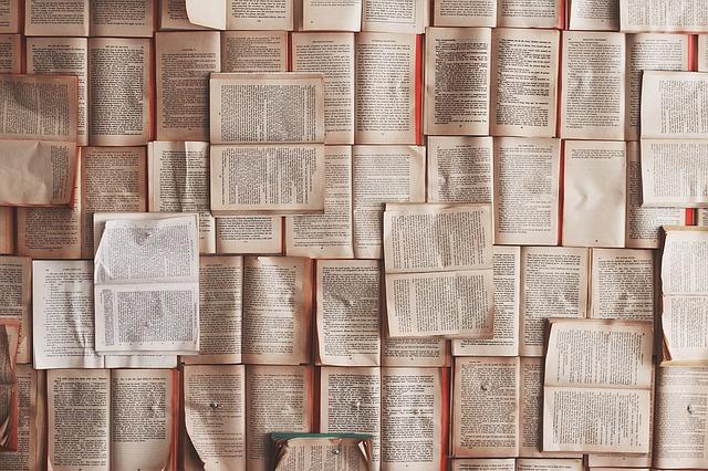 otevřené knihy